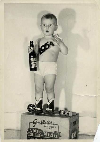 Baby new year 1954