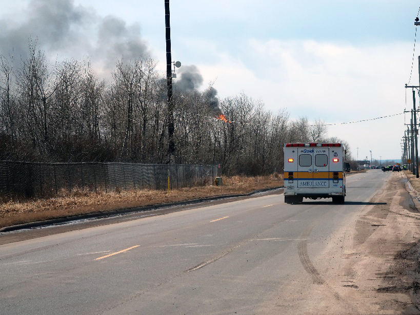 Fire Out, Evacuation Orders Lifted After Explosions At