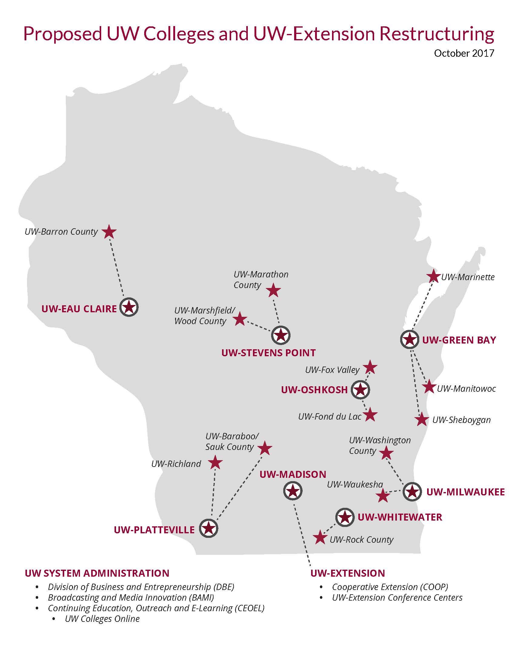 UW Regents Approve Merging System Campuses | Wisconsin Public Radio