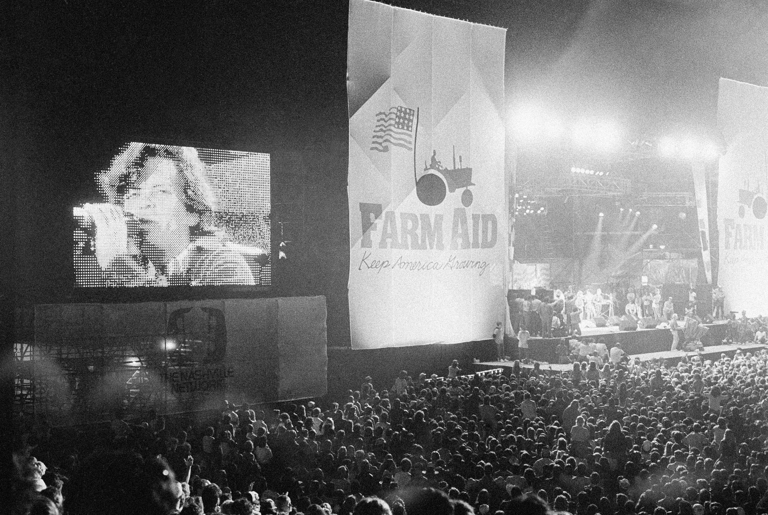 John Cougar Mellencamp performs at Farm Aid