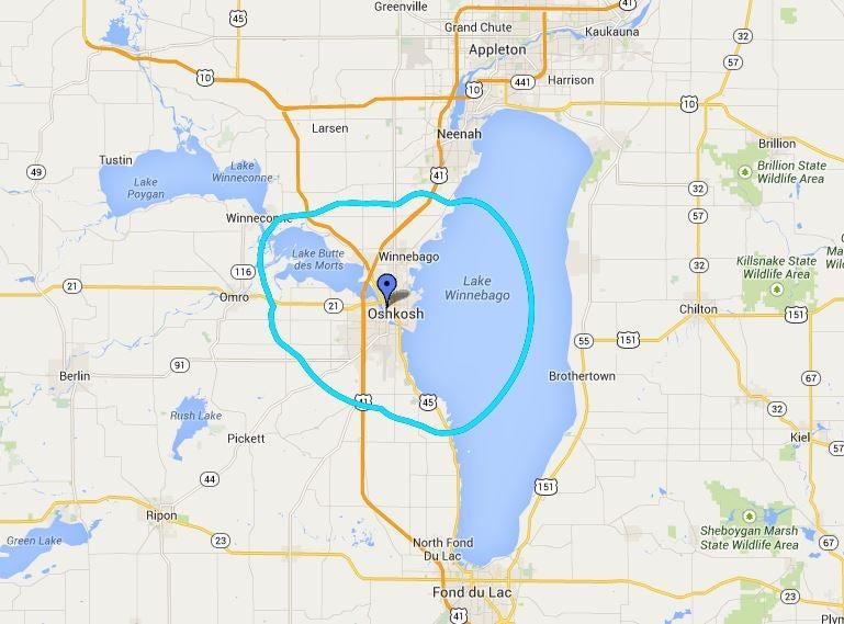 Oshkosh Campus Map.Fcc Wrst Fm Wisconsin Public Radio