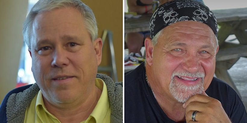 Gus VanderWegan and Gary Zimmerman
