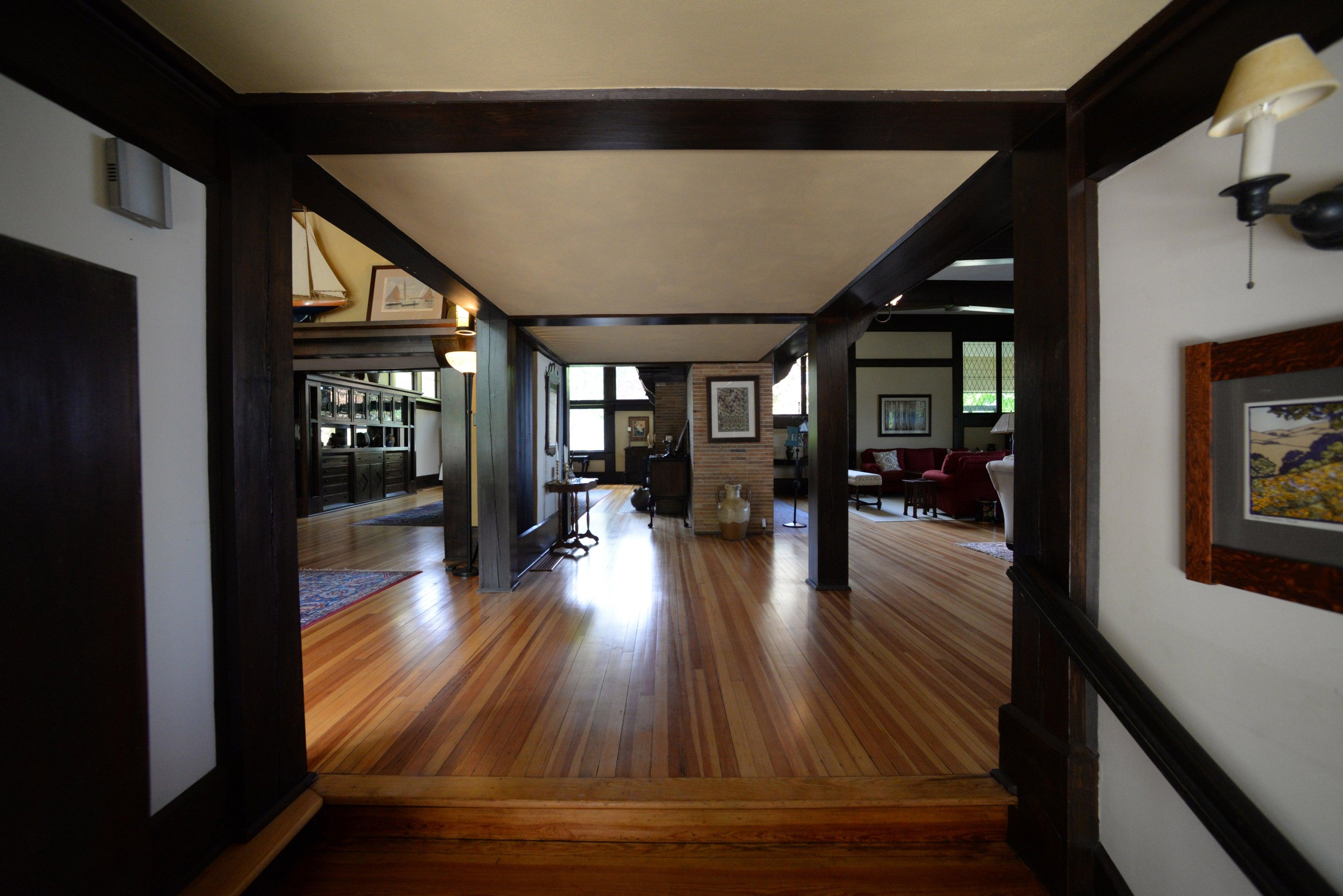 Frank Lloyd Wright's Penwern house