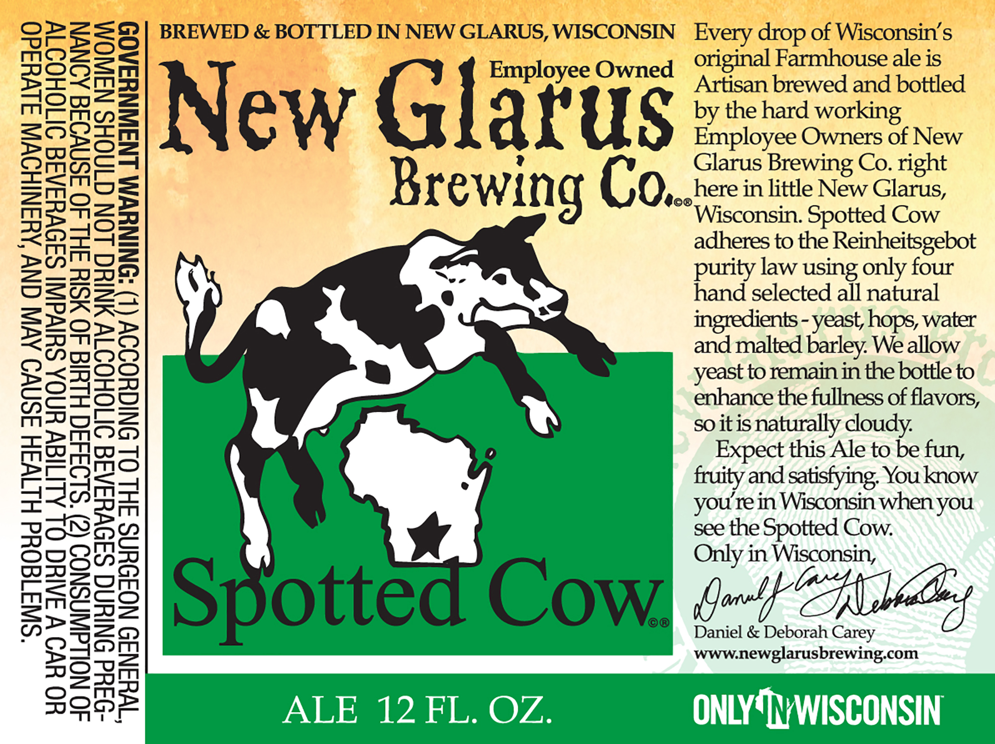 New Glarus Brewing Company's Spotted Cow