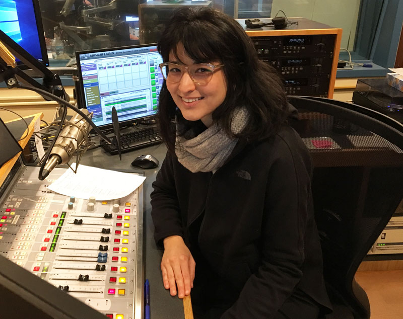 Photo of Naha Greenholtz in WPR Studios