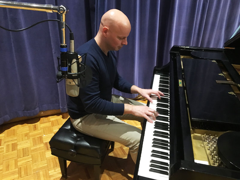 Photo of Johannes Wallmann in WPR Studios