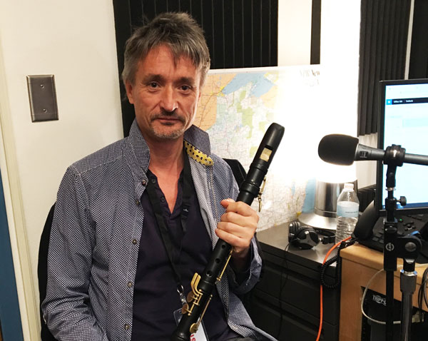 Photo of Piers Adams in WPR Studios