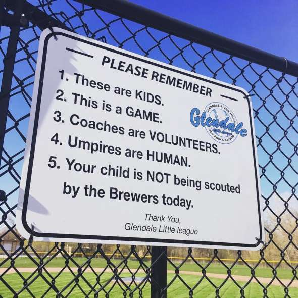Youth Baseball Coach Works To Keep Overbearing Parents In
