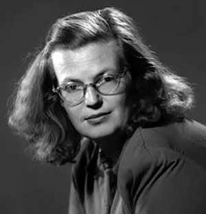 Photo of author Shirley Jackson