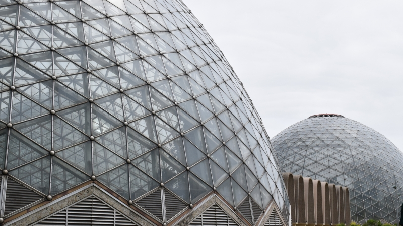 Mitchell Park Conservatory, Milwaukee, Domes