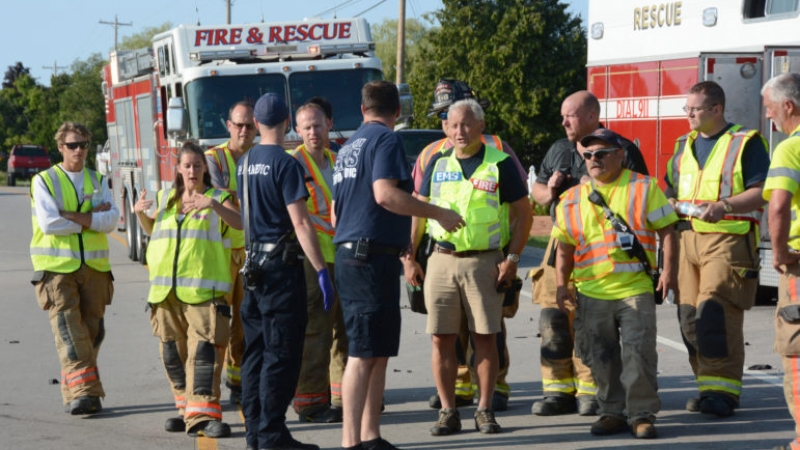 Facing a shortage of personal protective equipment, several rural EMS services have purchased protective gear through auto shops