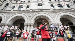 Read full article: Unemployed Workers Rally Outside Of Ron Johnson's Milwaukee Office