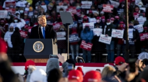 Read full article: Trump Draws Thousands To Rally As Wisconsin Sees Record High COVID-19 Cases, Deaths