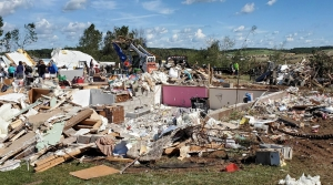 Read full article: Tornado Causes Damage As Storms Rip Western Wisconsin
