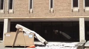 Read full article: Large Concrete Slab Falls Off UW-Madison Building As UW System Grapples With Aging Facilities