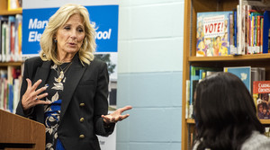 Read full article: Jill Biden Visits Milwaukee Elementary To Hear From Parents, Teachers About Virtual Learning And Return To School