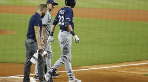 Read full article: Brewers' Yelich Won't Need Surgery, Likely Done For Season