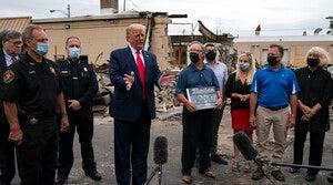 Read full article: Tensions High As Donald Trump Visits Kenosha