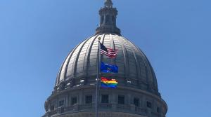 Read full article: LGBTQ Flag Flying Over Wisconsin State Capitol For First Time In History