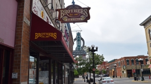 Brothers bar in downtown La Crosse