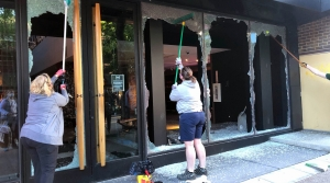 Read full article: Cleanup Underway In Madison After Violent Evening Following Demonstrations