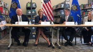 U.S. Secretary of Education Betsy DeVos at her back-to-school tour