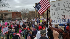 Read full article: More Than A Thousand Stay-At-Home Protesters Converge On Wisconsin Capitol