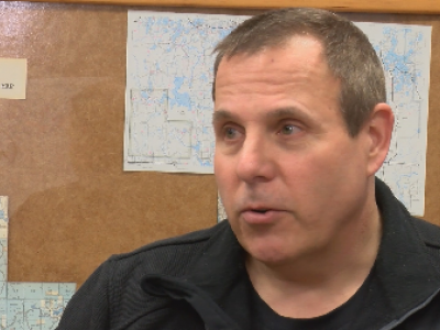 Oneida County forestry director John Bilogan