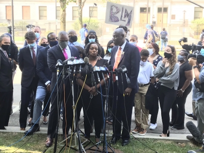 Julia Jackson, the mother of Jacob Blake, speaks at press conference