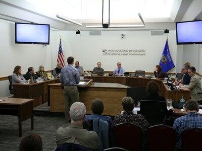 Eau Claire City Council meeting