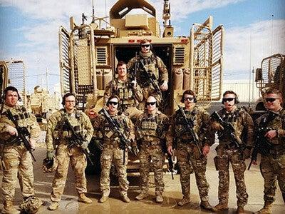 Red Arrow Soldiers in Afghanistan