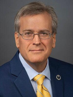 Vice Chancellor for Enrollment Management Albert Colom