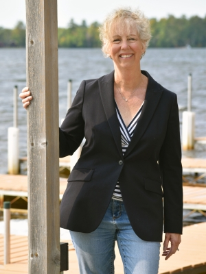 Vilas County Economic Development Director Kathy Schmitz