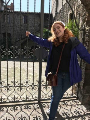UW-Eau Claire student Stefania Draghicchio's study abroad plans in Italy were cut short by COVID-19