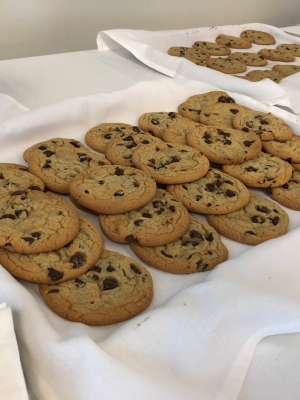 Midwest Express' chocolate chip cookies