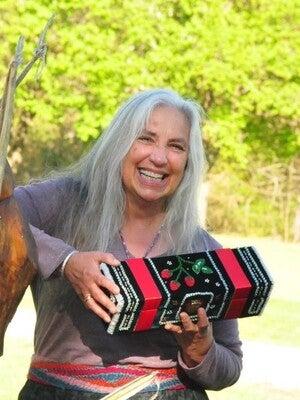 Karen Ann Hoffman is a Haudenosaunee raised beadworker who lives in Stevens Point