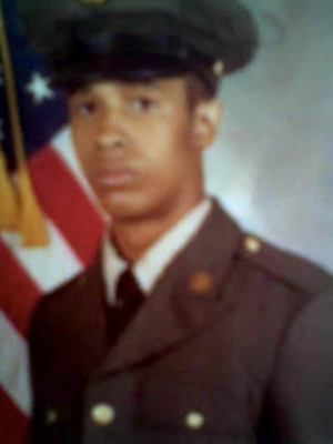 Vance E. Perry in uniform when he served in the U.S. Army