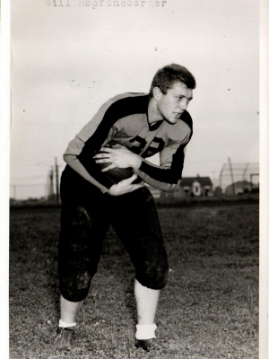 Bill Hopfensberger, played for the Little Chute Flying Dutchmen in 1949 and 1950