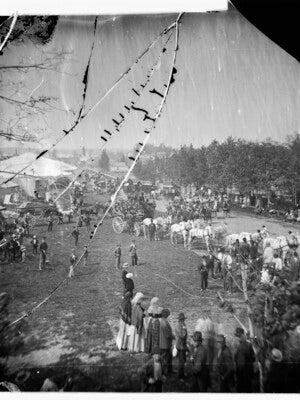 Wisconsin State Fair circa 1879