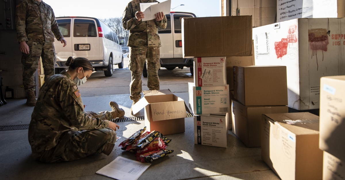 A 'Gigantic Mission': 2020 Saw Wisconsin National Guard Mobilized At Record Rate