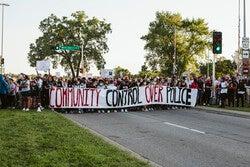 Protests demanding justice for George Floyd blockedtraffic on John Nolen Drive