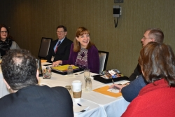 Northern Wisconsin county officials meet with Julie Willems Van Dijk