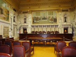 Wisconsin Supreme Court courtroom