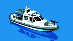 Lake Assault Boats patrol boat