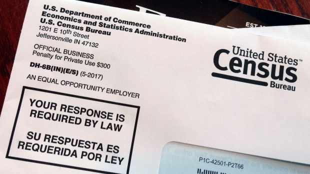 A 2018 census letter