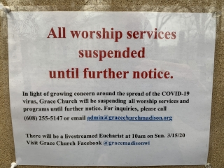 Grace Church in Madison has taken worship services online