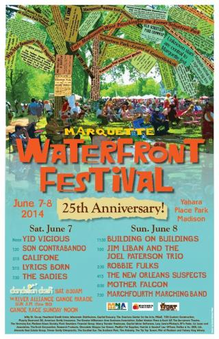 Waterfront Fest Poster