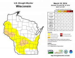 U.S. Drought Monitor info