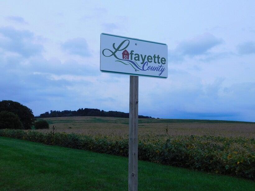 Lafayette County line
