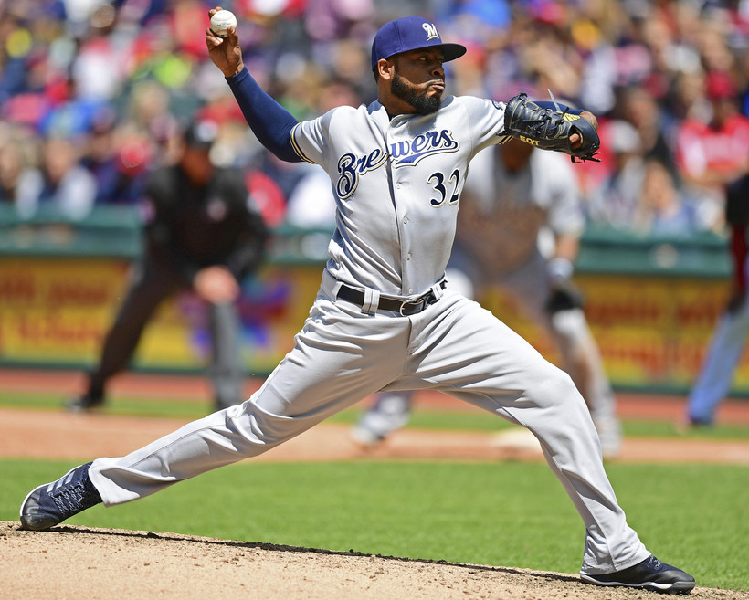Milwaukee Brewers' Jeremy Jeffress